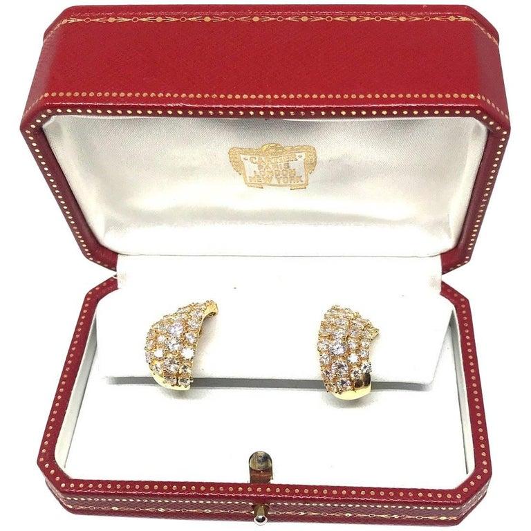 Diamond Earrings by Cartier