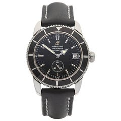 Breitling Stainless Steel Superocean Heritage Automatic Wristwatch, 2000