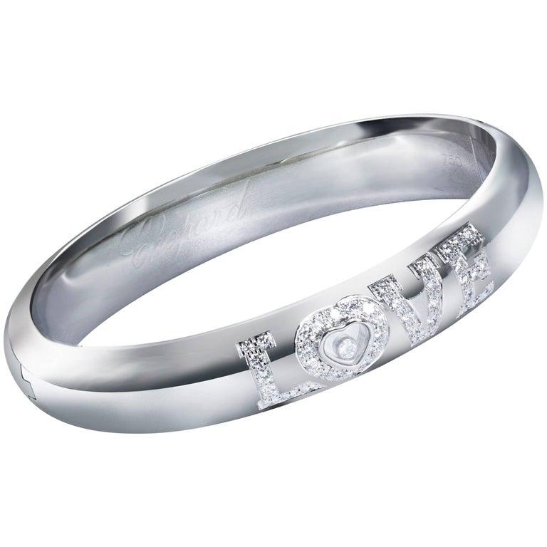 Chopard Happy Diamond Love Bangle Bracelet