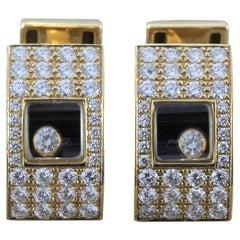 Chopard Dancing Diamond Gold Cufflinks