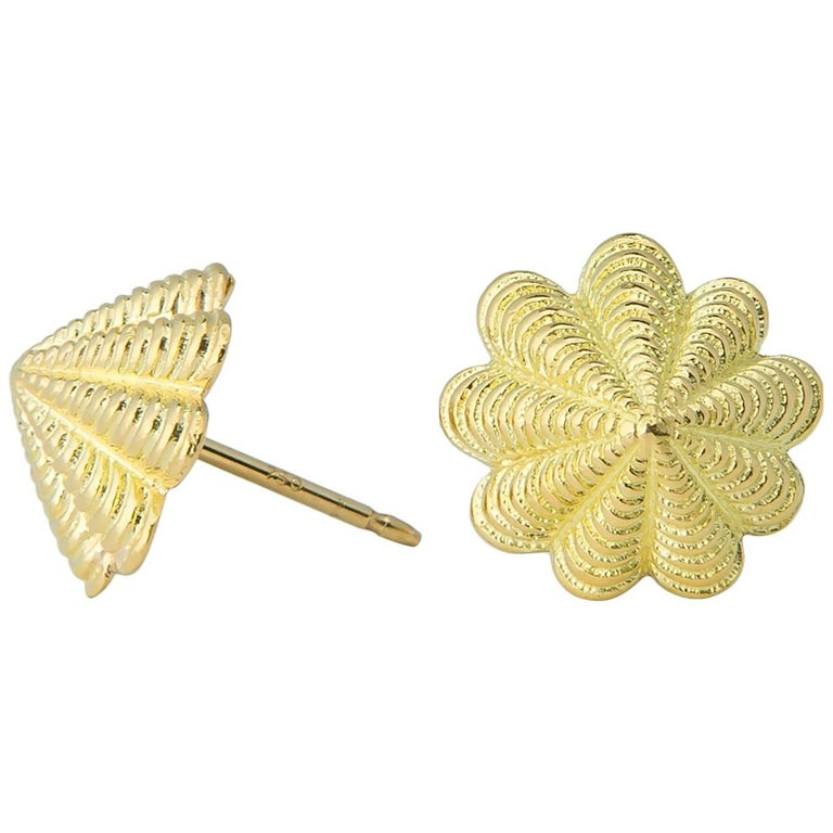 Jean Schlumberger for Tiffany & Co. Limpet Earrings For Sale