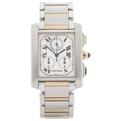 Cartier Ladies Yellow Gold Baignoire Quartz Wristwatch Ref 1960, 1990s