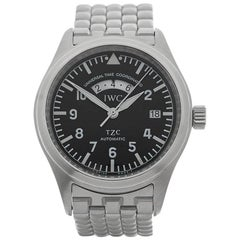IWC Stainless Steel Pilots UTC Automatic Wristwatch Ref IW325102, 2002