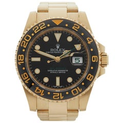 Rolex Yellow Gold GMT-Master II Automatic Wristwatch Ref 116718LN, 2017