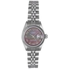 Rolex Ladies Stainless Steel Datejust Automatic Wristwatch Ref 179174