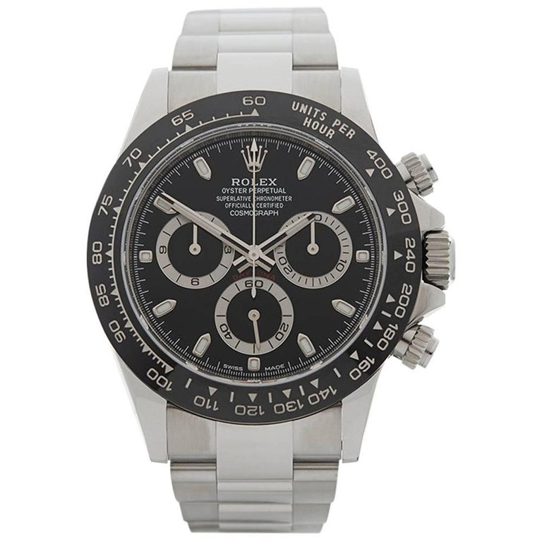 Rolex Stainless Steel Daytona Chronograph Automatic Wristwatch, 2016