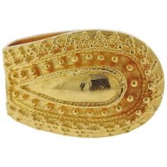 Lalaounis Greece Gold Ring