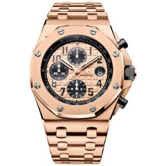 Audemars Piguet Rose gold Royal Oak Offshore Chronograph Automatic Wristwatch