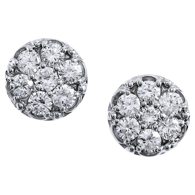 1 carat stud earrings sale 1 65 carat stud earrings at 1stdibs 3056