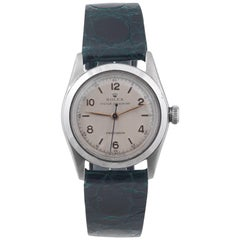 Rolex Stainless Steel Oyster Speedking Precision Wristwatch Ref 4220, 1946