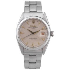 Rolex Stainless Steel Oyster Perpetual Date self-winding Wristwatch, circa 1957