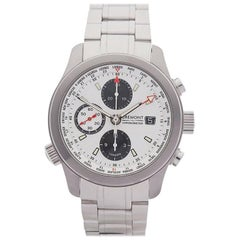 Bremont Stainless Steel World Timer Chronometer Automatic Wristwatch, 2013