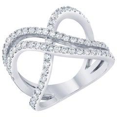 0.96 Carat Diamond Cocktail Ring