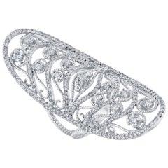 1.76 Carat Diamond Cocktail Ring