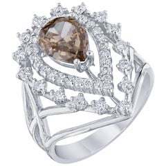 2.33 Carat Fancy Diamond Ring