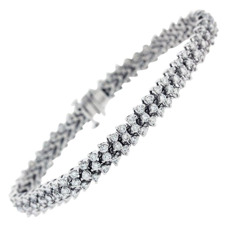 Stunning Gold and Diamond Bracelet