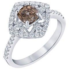 1.63 Carat Fancy Diamond Engagement Ring