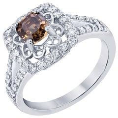 1.75 Carat Fancy Diamond Engagement Ring