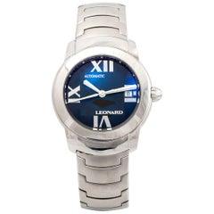 Leonard Sphere Steel Bracelet Wristwatch