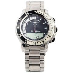 Tissot Steel Sea-Touch Wristwatch