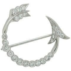 Diamond Brooch Pin