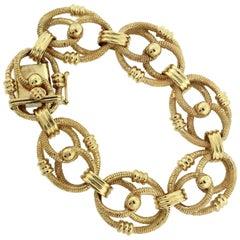 Stunning Gold Link Bracelet