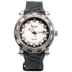Robergé Titanium and Ceramic Pavo Sport Wristwatch