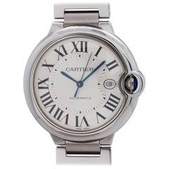Cartier Stainless Steel Ballon Bleu automatic wristwatch, circa 2000s