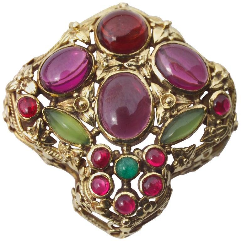 John Paul Cooper Superb Arts & Crafts Brooch 1