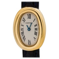 Cartier Ladies Yellow Gold Mini Quartz Wristwatch, circa 2000