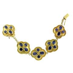 Crevoshay One of a Kind Iolite Bracelet