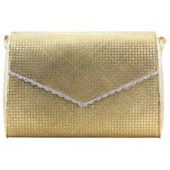 Cartier Paris Diamond Gold Evening Purse