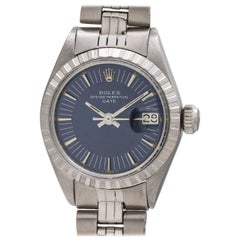 Rolex Ladies Stainless Steel Oyster Perpetual Date Wristwatch, circa 1977