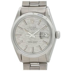 Rolex Stainless Steel Oyster Perpetual Date Automatic Wristwatch, circa 1970