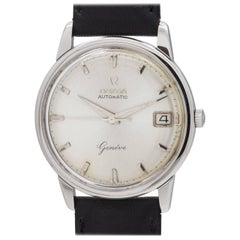 Omega Stainless Steel Geneve Automatic Wristwatch ref 14703, circa 1961