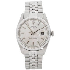 Rolex Stainless Steel Datejust Automatic Wristwatch Ref 1603, 1971