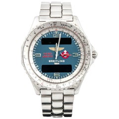 Breitling stainless Steel Red Arrows Airpatrol Limited Edition Quartz Wristwatch