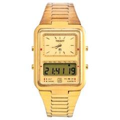 Tissot Gold Plated Formula 1 Quartz Wristwatch