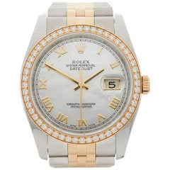 Rolex Ladies Yellow Gold Stainless Steel Datejust Automatic wristwatch, 2011