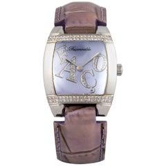 Faconnable Ladies stainless Steel Dome Quartz Wristwatch