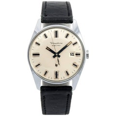 Lip stainless steel Dauphine Electric Wristwatch