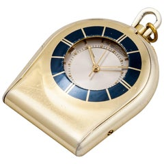 Jaeger LeCoultre Memovox Travel Mechanical Pocket Watch