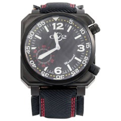 Gevril stainless Steel Submarine Square WR Mechanical Wristwatch