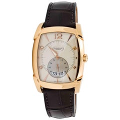 Parmigiani Fleurier Rose Gold Tank Wristwatch