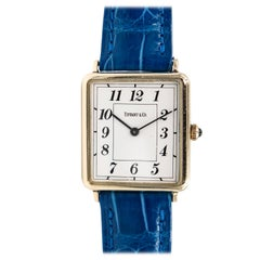 Tiffany & Co. Ladies Yellow Gold Quartz Wristwatch