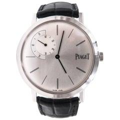 Piaget White Gold Altiplano Manual Wristwatch