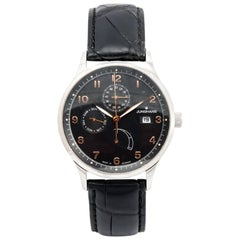 Junghans stainless Steel Agenda with Complications Automatic Wristwatch