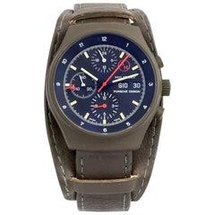 Orfina Porsche Design Stainless Steel German Army Prototype Wristwatch