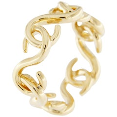 Jona Riccioli 18 Karat Yellow Gold Ring