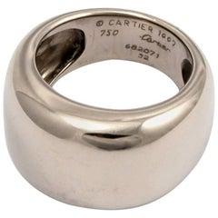 Cartier 18 Karat White Gold Ring